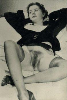 Señora desnuda en 1940