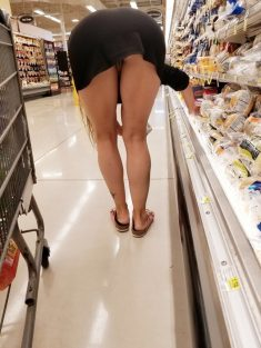 Mi mujer en el supermercado