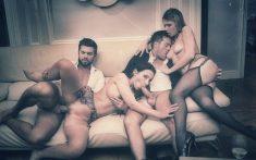 Orgia entre cuatro