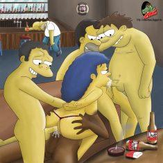Comic porno de los simpsons