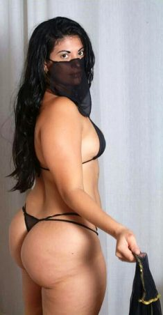 Mujer india caliente con gran culo