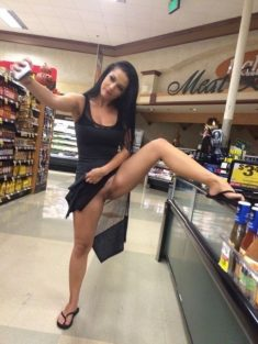 Exhibiciones en el supermercado