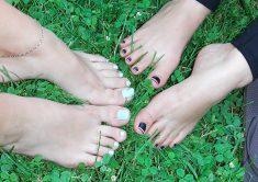 Para los fetichistas de pies