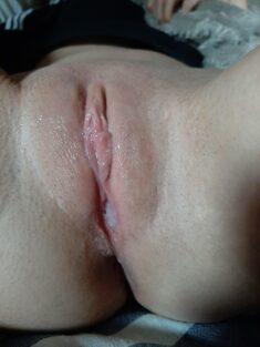 Este lindo coño acaba de tener un orgasmo